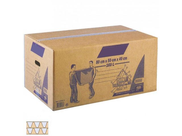 Caisse en carton fournisseurs industriels - Achat carton demenagement ...