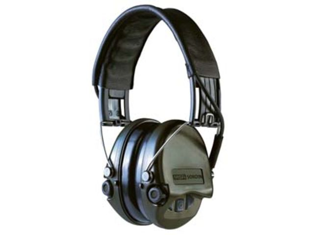 Casque antibruit MSA Sordin Supreme-Pro vert_COOLSAFETY