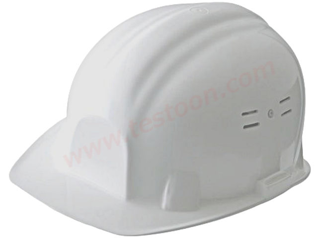 Casque de chantier blanc divers casque chantier contact testoon - Casque de chantier enfant ...