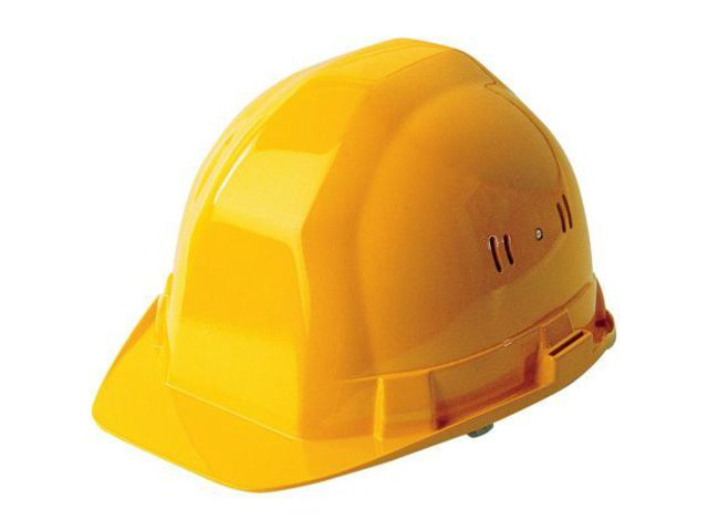 casque de chantier jaune 564402 contact outillage btp com. Black Bedroom Furniture Sets. Home Design Ideas