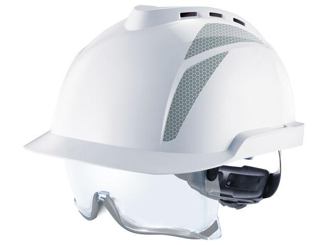 casque de chantier v gard 930 avec sur lunettes int gr es. Black Bedroom Furniture Sets. Home Design Ideas