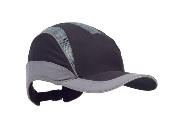 detailing fast delivery utterly stylish Casquette de protection : PROTECTOR FIRST BASE 3 ELITE SP NOIR GRIS