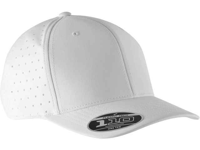 CASQUETTE PERFOREE BLANCHE