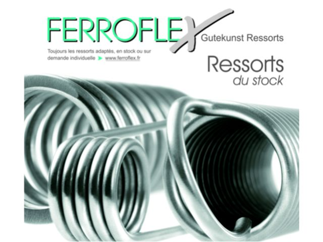 catalogue de ressorts 10 11 contact ferroflex gutekunst. Black Bedroom Furniture Sets. Home Design Ideas