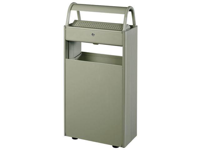 cendrier poubelle ext rieur sur pied 60 l contact seton. Black Bedroom Furniture Sets. Home Design Ideas