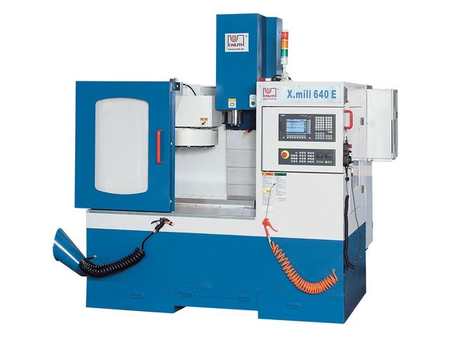 Centre d'usinage vertical CNC - X.mill 640 Eco SI_KNUTH Werkzeugmaschinen GmbH