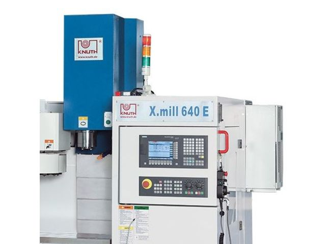 Centre d'usinage vertical CNC - X.mill 640 Eco SI_KNUTH Werkzeugmaschinen GmbH_2