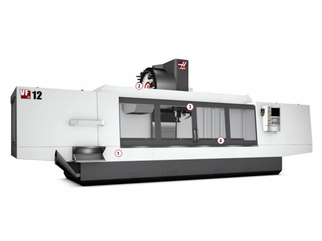 Centre d'usinage vertical standard à cône 40 – VF-12-40_HAAS AUTOMATION EUROPE_2
