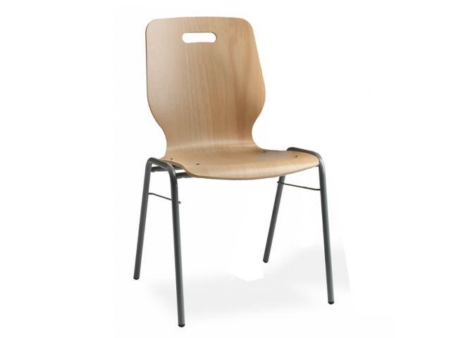 chaise coque en bois contact roll co. Black Bedroom Furniture Sets. Home Design Ideas