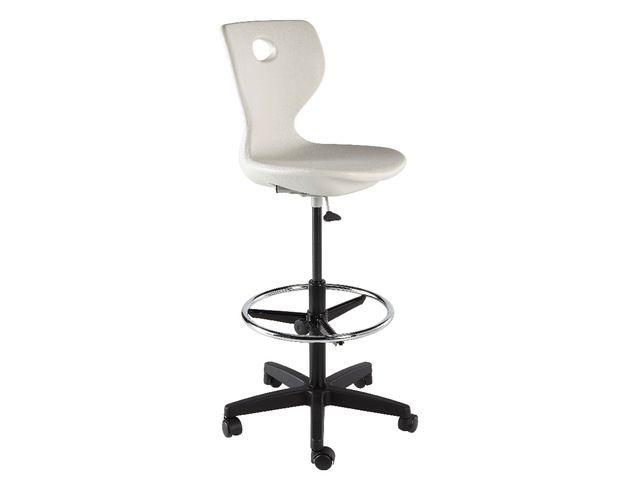 chaise dessinateur fidji contact manutan collectivites. Black Bedroom Furniture Sets. Home Design Ideas