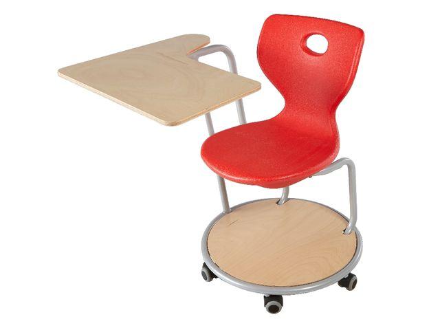 chaise fidji lc avec tablette orientable 30 contact manutan collectivites. Black Bedroom Furniture Sets. Home Design Ideas