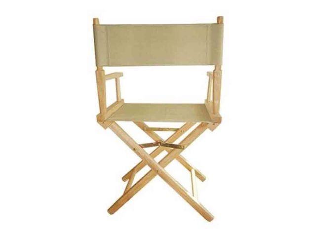 chaise metteur en scne beige rue du print - Fauteuil Metteur En Scene