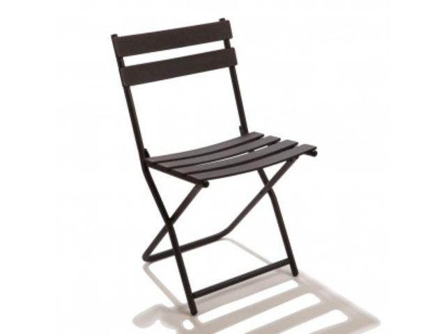 Chaise Pliante Fer Square GUICHARD COLLECTIVITE