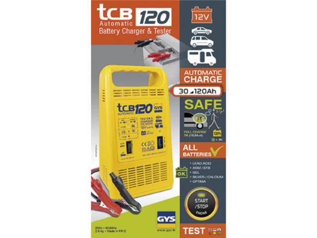 Chargeur de batterie automatique Gys TCB120 12V 30 120 Ah