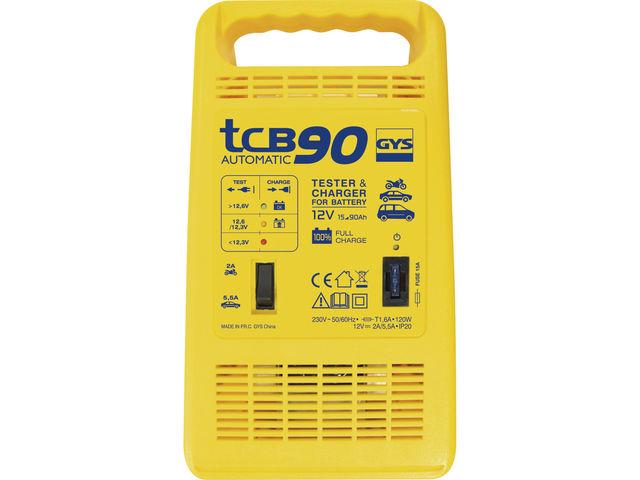 CHARGEUR DE BATTERIE TCB 60 AUTOMATIC GYS Comparer les prix