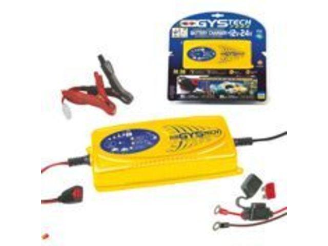 Admirable Chargeur de batterie automatiques 12-24v - gystech 7000 - gys YM-12