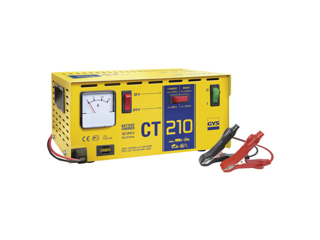 Chargeur de batterie traditionnel Pro CT 210 - UK_GYS_1