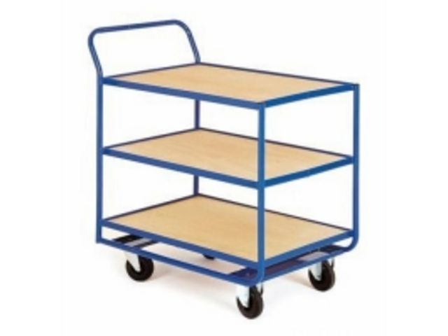chariot 3 plateaux bois contact btp group achatmat. Black Bedroom Furniture Sets. Home Design Ideas