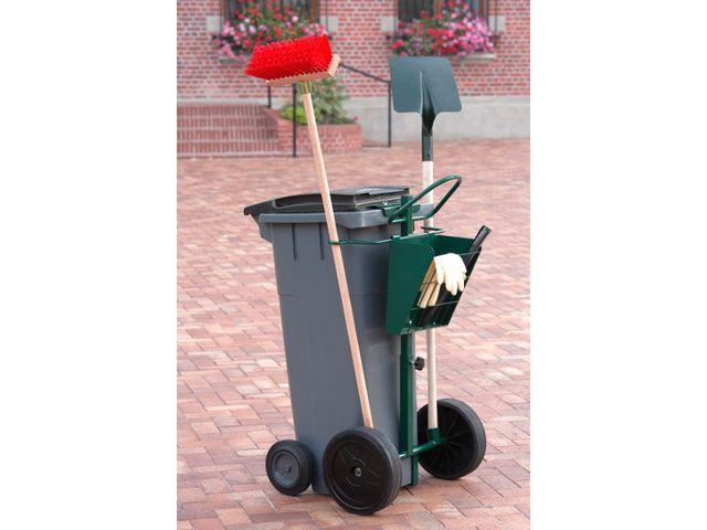 chariot de voirie pour conteneur poubelle plastique contact roll co. Black Bedroom Furniture Sets. Home Design Ideas