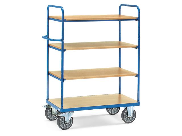 chariot haut plateaux bois 600 kg contact raja. Black Bedroom Furniture Sets. Home Design Ideas