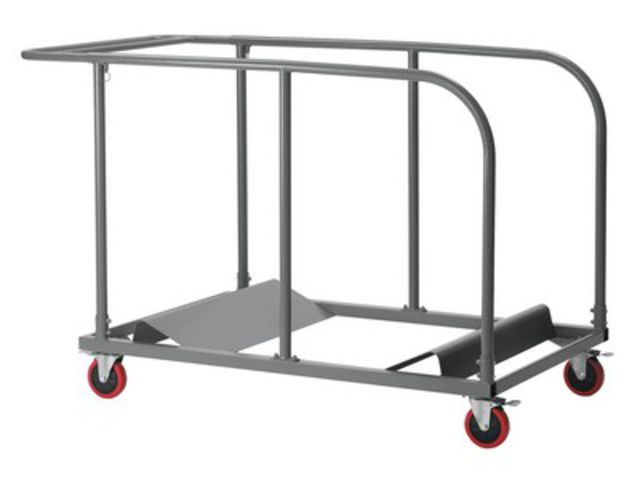 Chariot planet trolley table ronde 120 cm 150 cm 180 cm - France-Collectivites