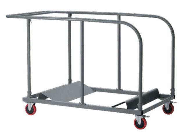 chariot pour chaise et table pliante contact aude plastique. Black Bedroom Furniture Sets. Home Design Ideas