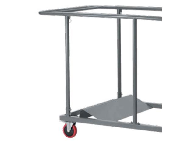 Chariot pour chaise et table pliante contact aude plastique - Table pliante pour exposition ...