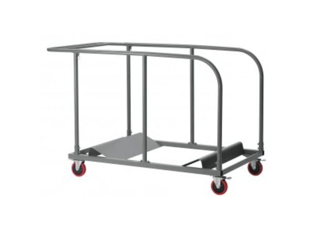 Chariot pour tables pliantes poly thyl ne contact guichard collectivites - Tables collectivites pliantes ...