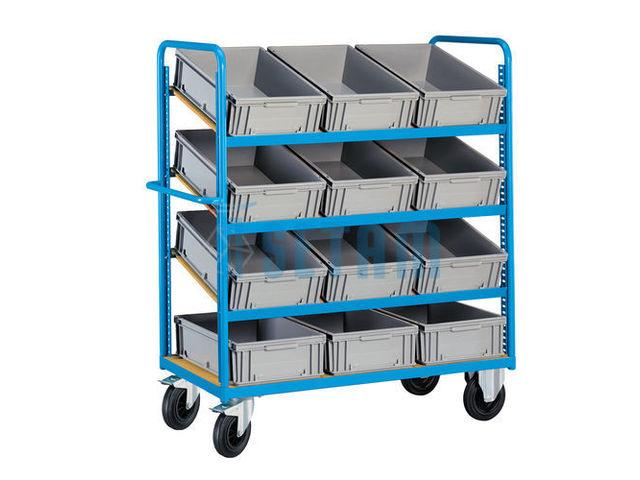 chariot pr parateur de commande fournisseurs industriels. Black Bedroom Furniture Sets. Home Design Ideas