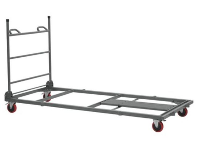 Chariot xl trolley table rectangle 150 cm 180 cm - France-Collectivites