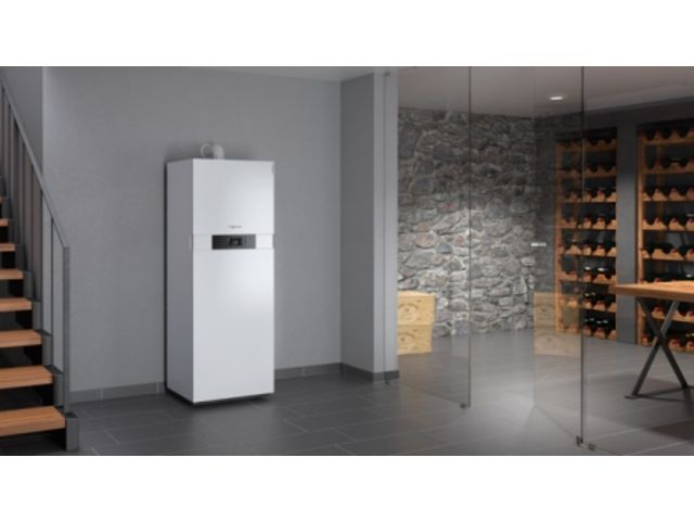 chaudi re murale gaz condensation vitodens 222 f. Black Bedroom Furniture Sets. Home Design Ideas