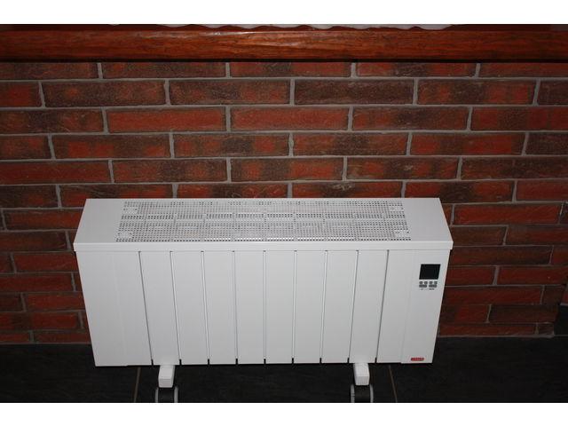 chauffage electrique radiateur inertie plinthe double. Black Bedroom Furniture Sets. Home Design Ideas