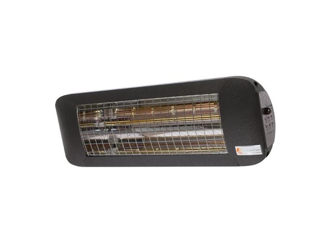 Chauffage infrarouge ComfortSun24 Timer Anthracite - 1400 W Low Glare - DoHeat