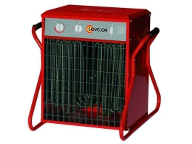 chauffage mobile lectrique air puls de grande. Black Bedroom Furniture Sets. Home Design Ideas