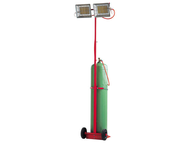 chauffage radiant gaz mobile sovelor solor8500 msa plein. Black Bedroom Furniture Sets. Home Design Ideas