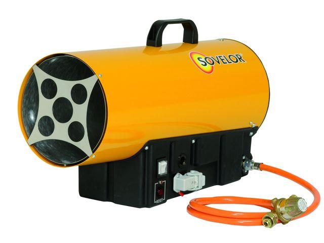 Chauffage sovelor blp53e air puls mobile au gaz propane for Chauffage air air avis