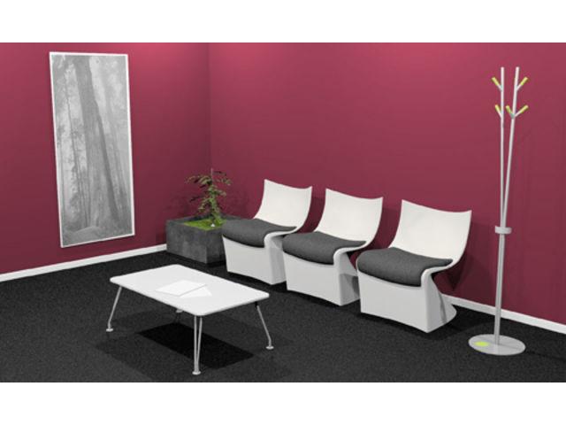 chauffeuse d 39 accueil design space contact 2 m mobilier. Black Bedroom Furniture Sets. Home Design Ideas