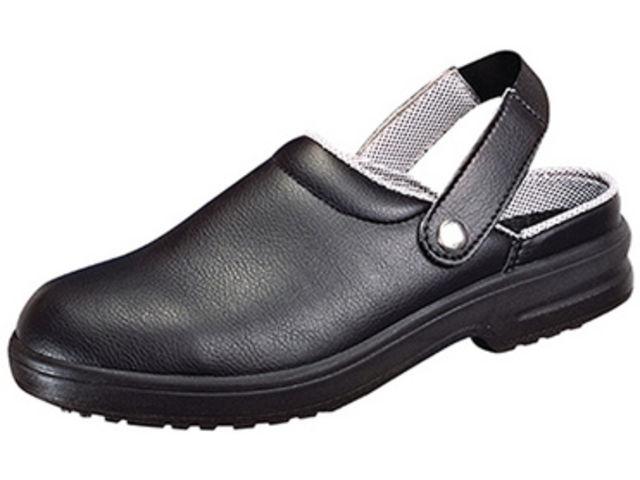 Chaussure de sécurité Clog CLASSIC Noir taille: 48