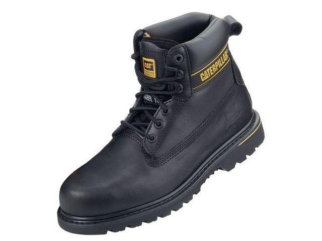 noirs Chaussures la CATERPILLAR marque Holton de Caterpillar SB de sécurité vw80OPymNn