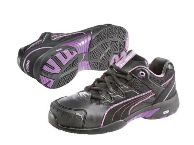 chaussures de s curit femme stepper noir mauve puma taille 35 contact rangestock. Black Bedroom Furniture Sets. Home Design Ideas