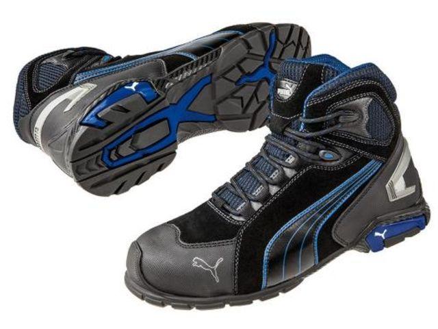 Chaussures de sécurité haute Rio Blk Mid S3 SRC, PUMA taille 39 au 47