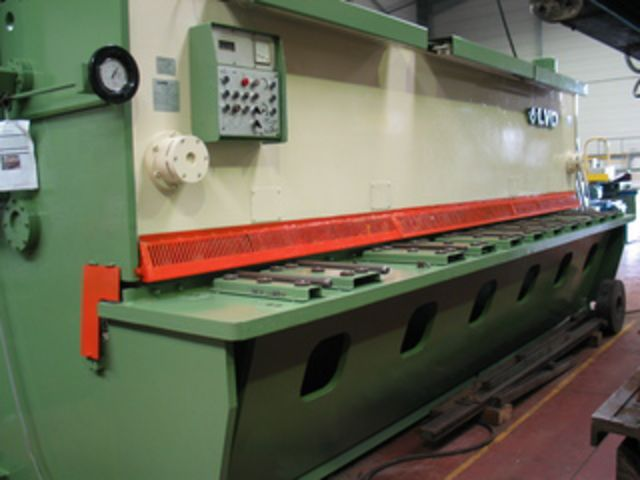 Cisaille guillotine LVD - Type : MVS 50/10