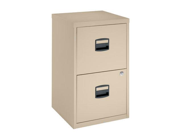 classeur budget noir 2 tiroirs h 67 5 cm classeurs monoblocs budget 2 tiroirs contact maxiburo. Black Bedroom Furniture Sets. Home Design Ideas