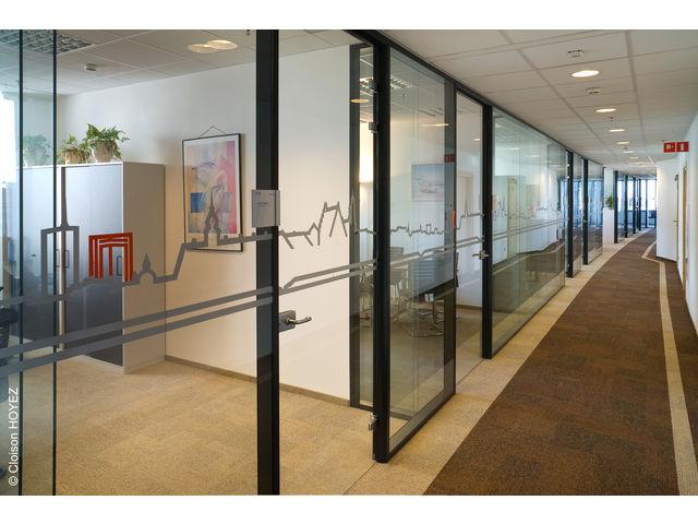 Cloison amovible aluminium contact pro stockage logistique - Cloison aluminium bureau ...