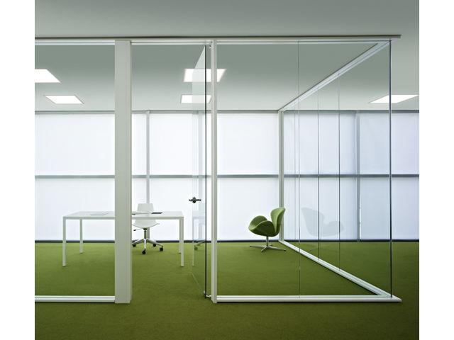 Cloison bureau contact abs agencement - Cloison aluminium bureau ...