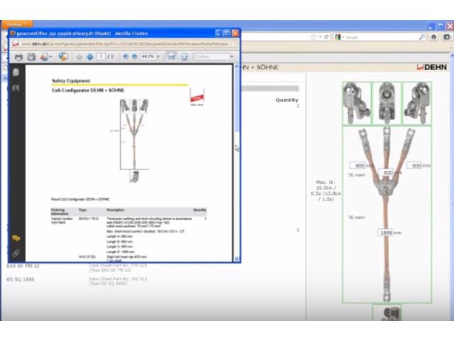 Configurateur en ligne pour les dispositifs de mise la terre et de court ci - Circuit de terre electricite ...