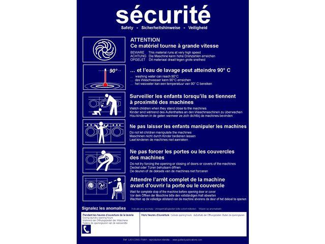 Consignes De Securite Pour Laverie Automatique Contact