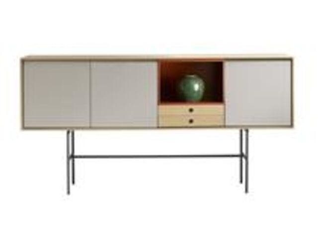 console avec rangement aura contact terre design. Black Bedroom Furniture Sets. Home Design Ideas