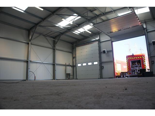 Construction batiment industriel structure m tallique contact abri and co - Construire un batiment industriel ...