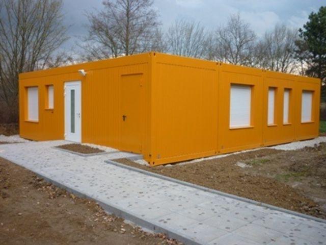 Construction modulaire pour collectivit contact for Container habitation modulaire